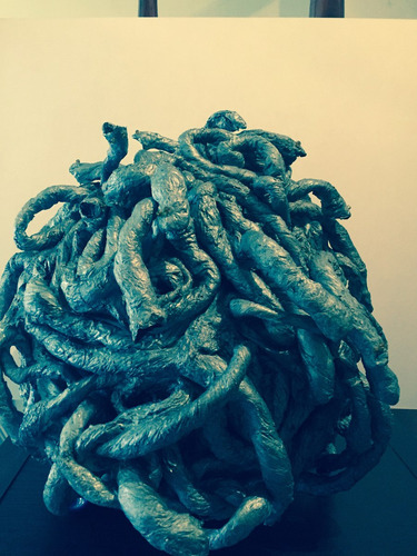 escultura cabeza de medusa
