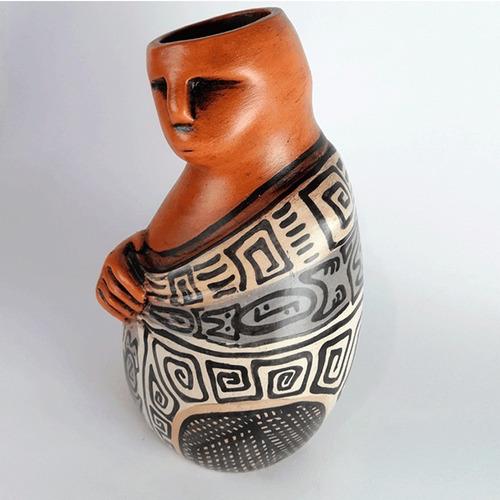 escultura cerámica hombre - estatua hombre