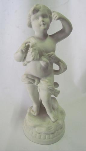 escultura de biscuit português