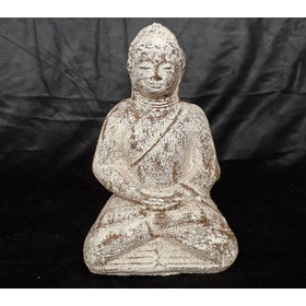 Escultura De Buda En Piedra Importada De Indonesia