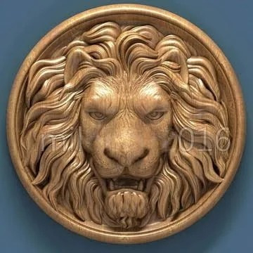 escultura de isopor, leão