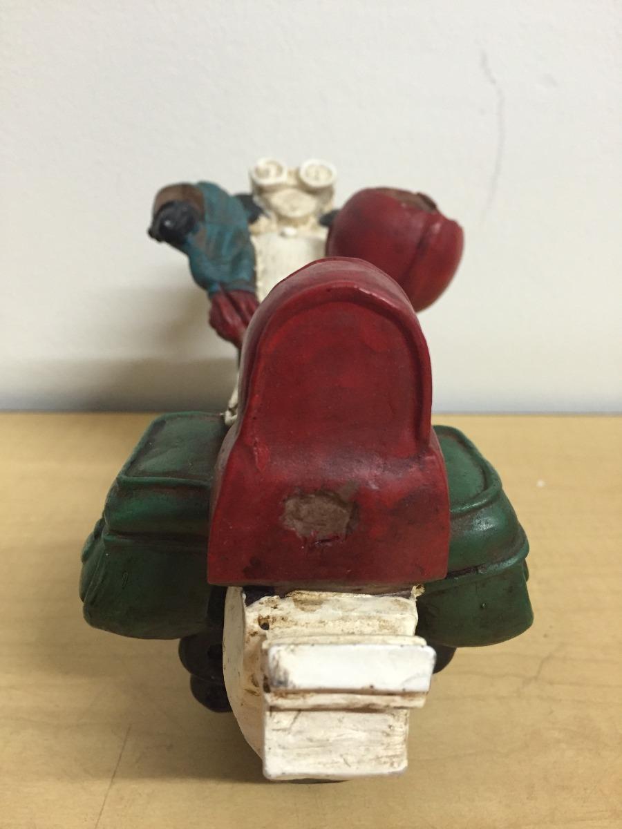Escultura de moto decorativa recina en mercado for Escultura decorativa