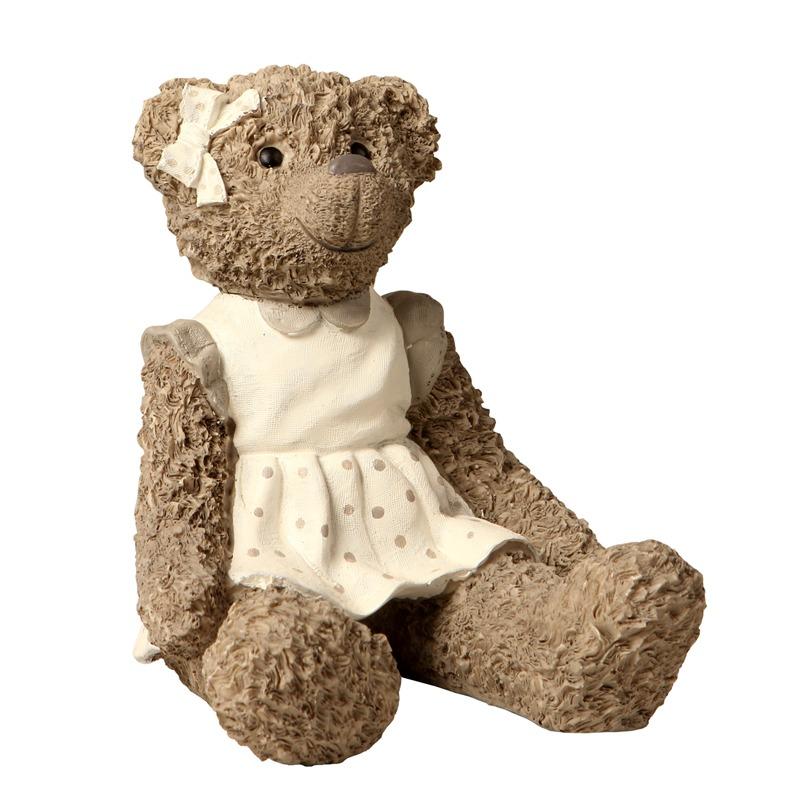 Escultura decorativa de resina ursa marie r 144 00 em for Escultura decorativa