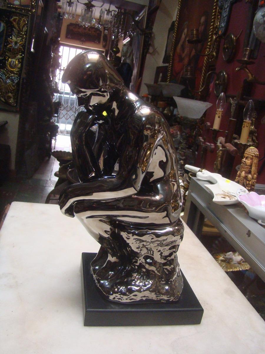Escultura decorativa del pensador u s 65 00 en mercado libre - Escultura decorativa ...