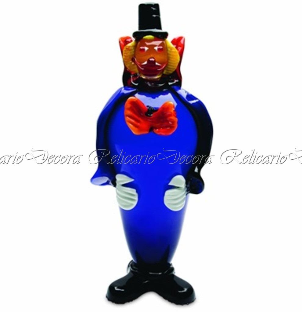 Escultura decorativa palha o de murano azul impecavel r 190 00 em mercado livre - Escultura decorativa ...