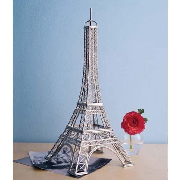 Escultura Decorativa Torre Eiffel Acero Inoxidable 54900 En - Escultura-decorativa