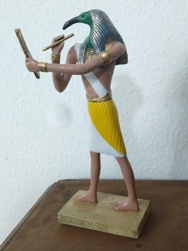 escultura deus thoth
