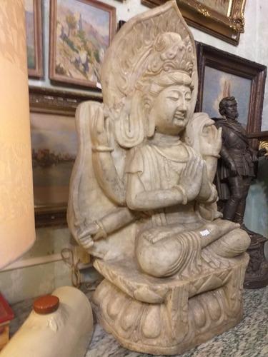 escultura diosa shiva en marmol