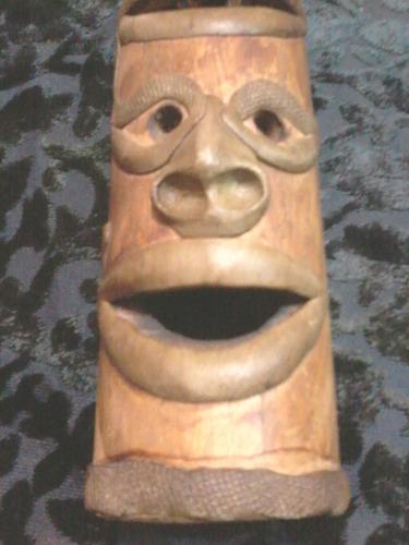 escultura en caña (porta sahumerio) caba  entrega sin cargo