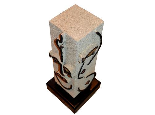 escultura en umberto capozzi artista ali vanegas adorno lujo