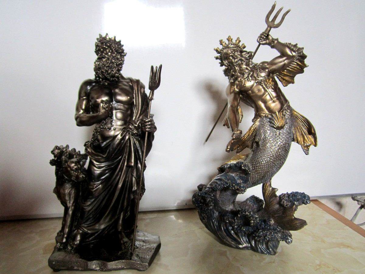 escultura griega de poseidon. Cargando zoom. b71ac07e8a42