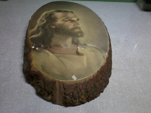 escultura jesus cristo de madeira anos 60 made in usa