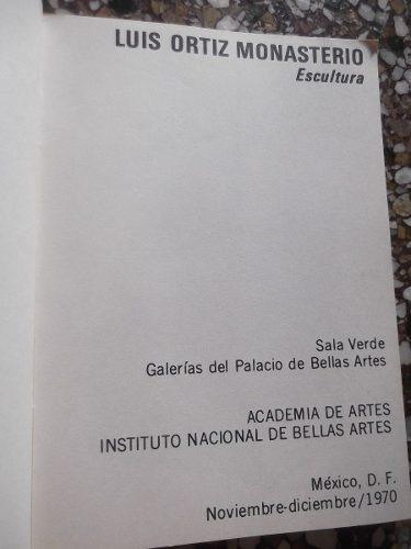 escultura luis ortiz monasterio academia de artes inba mexic