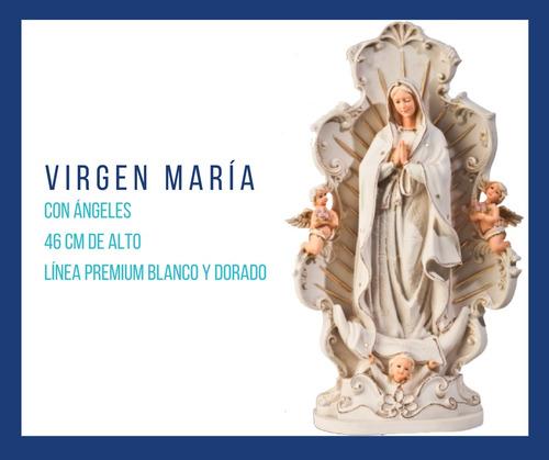 escultura virgen maría en línea premium