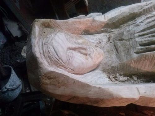 esculturas de madera a motocicleta y esculpidas a mano