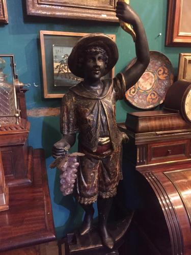 esculturas venecianas policromados en madera