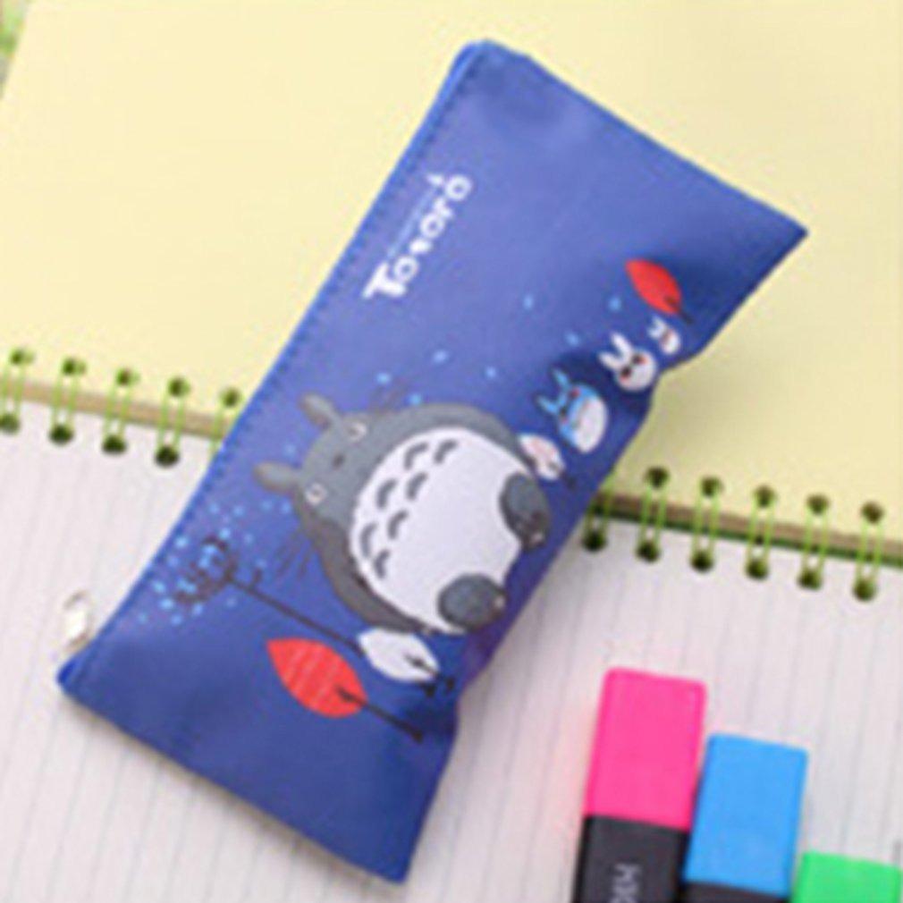Escuro Azul Dos Desenhos Animados Simples Estojo De Lapis Cr R 56 20 Em Mercado Livre
