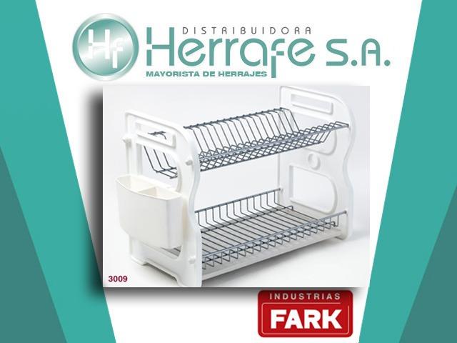 Escurreplatos De Apoyar Con Cubiertero Plástico Fark 3009 -   1.730 ... 55cad97a723b