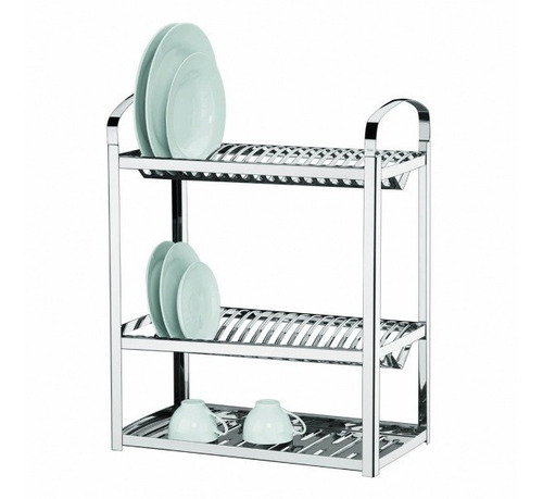 escurridor brinox secaplatos 40 platos acero inox.