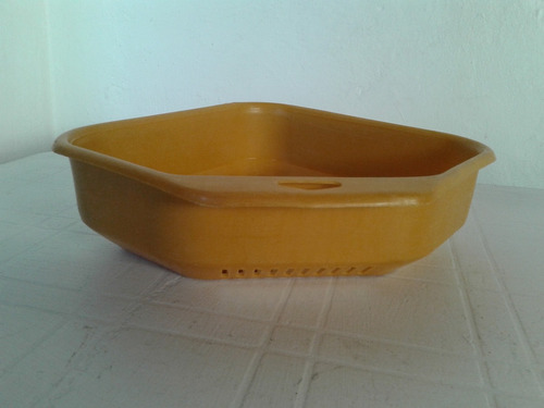 escurridor de platos 22x22 y 7.5cm de altura