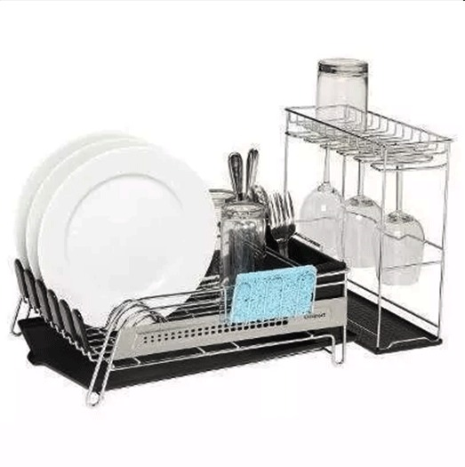 Escurridor de platos acero inoxida cuisinart rack para for Escurridor de platos carrefour