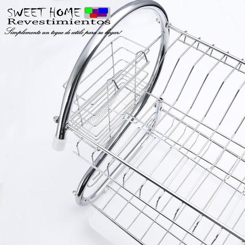escurridor de platos, cubiertos, vasos, para cocina
