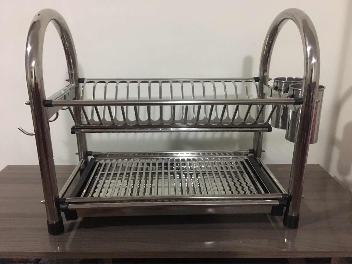 escurridor de platos de acero inoxidable - nuevo. Cargando zoom. 7dcf41d5fd65