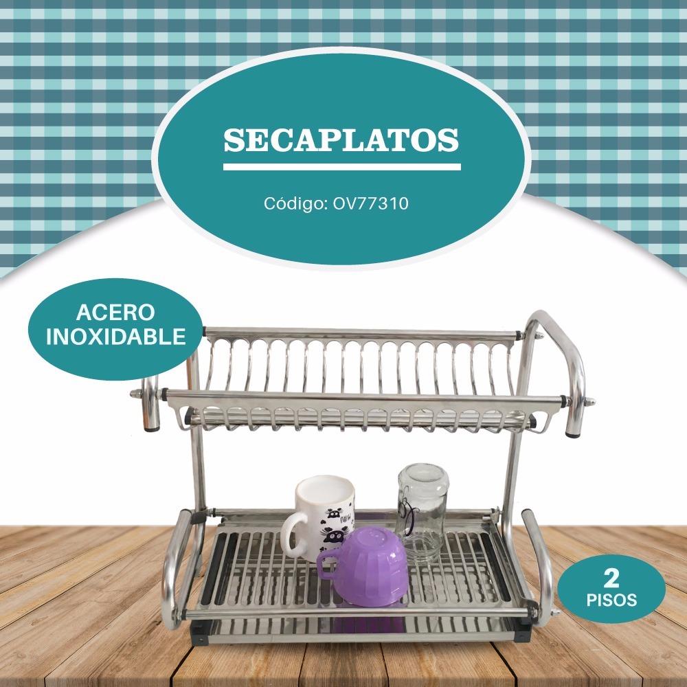 escurridor de platos secaplatos de acero inoxidable cocina c. Cargando zoom. dcbe494e7139