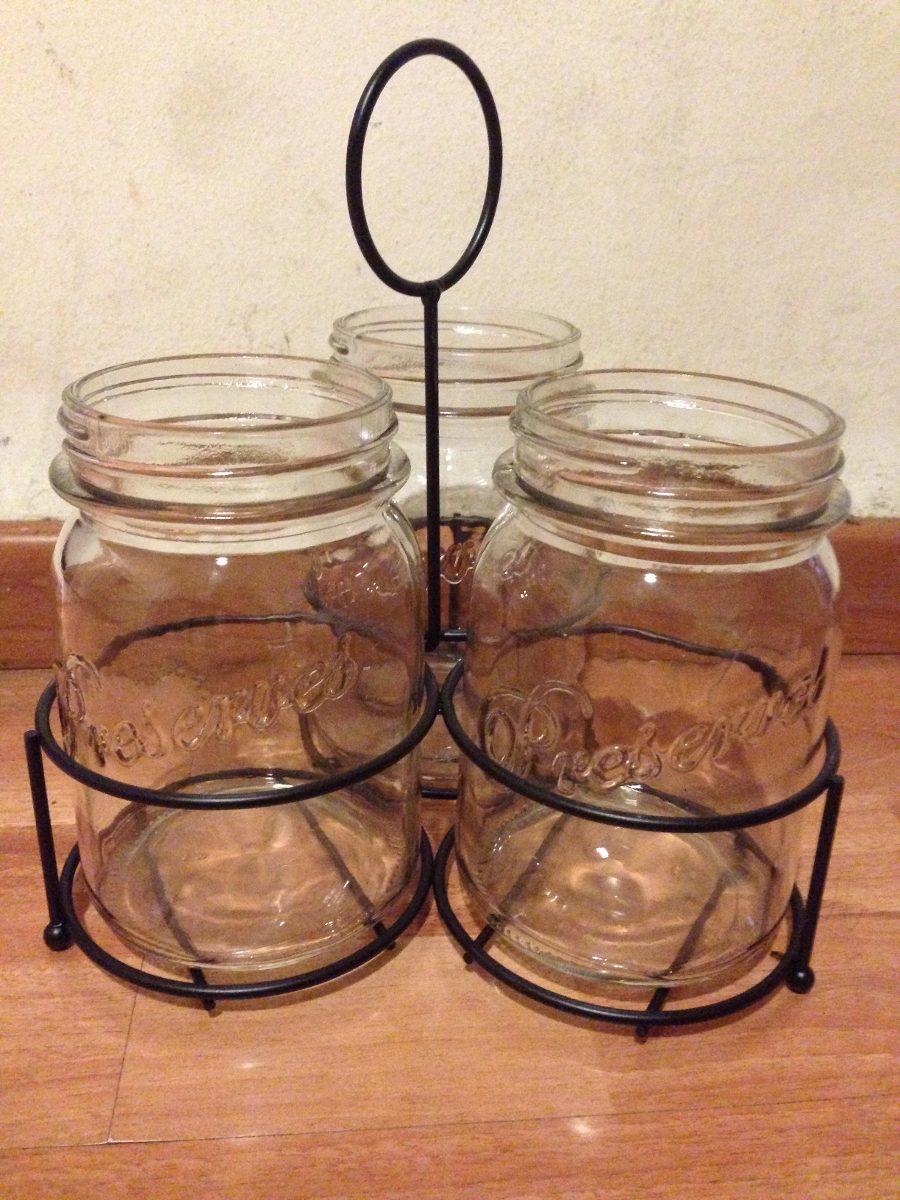 Escurridor de trastes para cocina utensilios tipo mason for Trastes de cocina