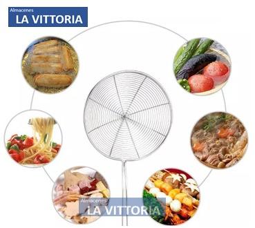 Cocina A Domicilio | Escurridor Metalico Para Freir En Aceite Cocina A Domicilio U S 7