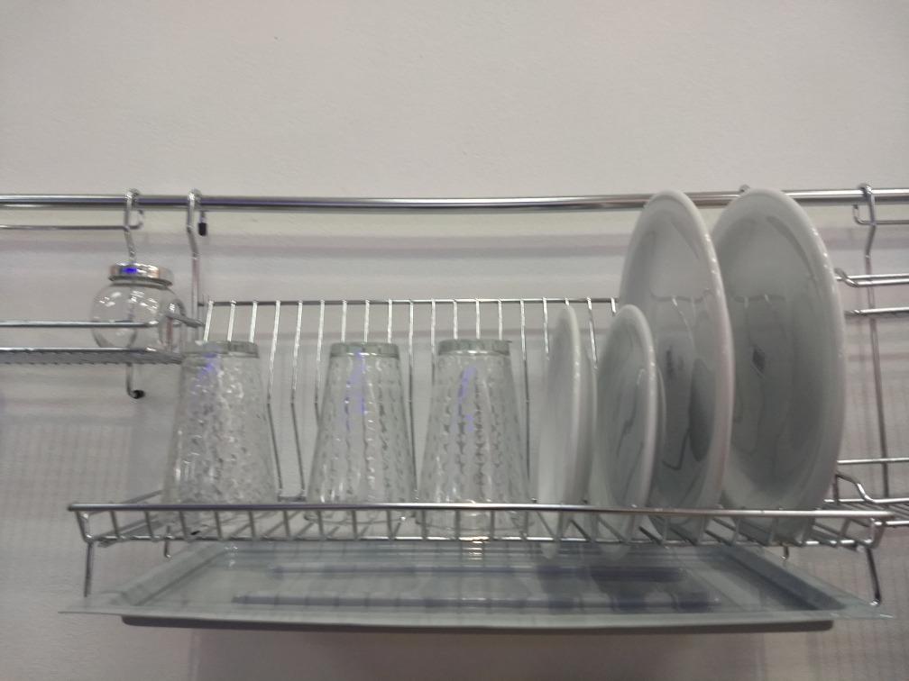 escurridor platos cromado para barral con bandeja asamit. Cargando zoom. f861a1ba587e