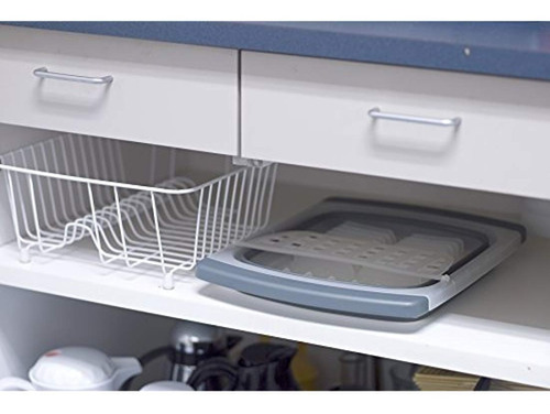 escurridor plegable  para platos