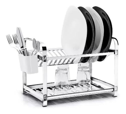 escurridor secaplatos 16 platos makinox acero inox c bandeja