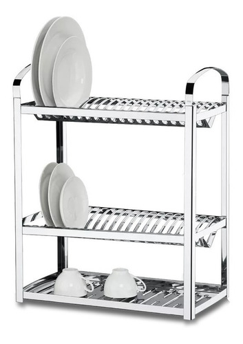escurridor secaplatos 40 platos brinox acero inoxidable