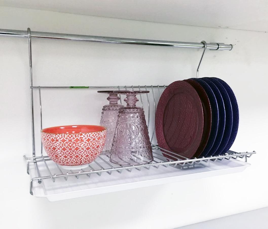 escurridor secaplatos colgante con bandeja p barral cocina. Cargando zoom. eff9bb2697bc