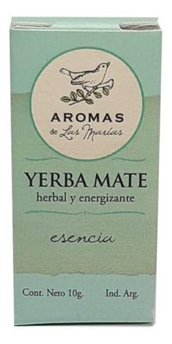 esencia aromatizante de yerba mate