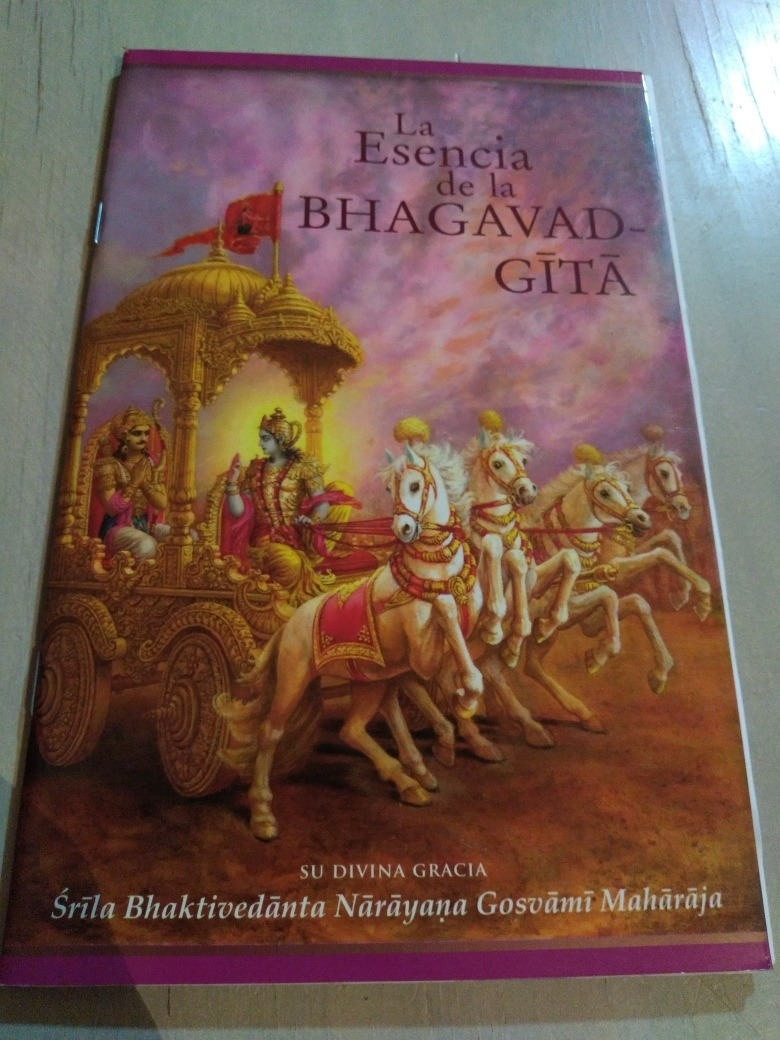 Resultado de imagen de la esencia del bhagavad gita