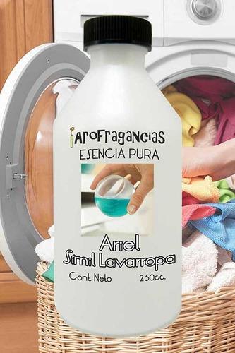 esencia pura  ariel símil lavarropa  x 250cc p/ difusor, etc