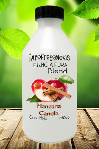 esencia pura blend manzana canela x 250cc.