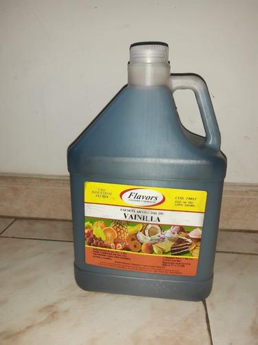 esencia sabor a vainilla flavors  4 litros