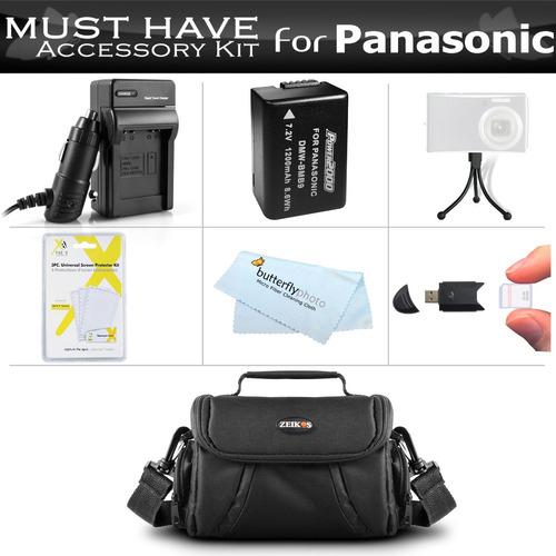 esenciales kit de accesorios para panasonic lumix dmc-fz70k