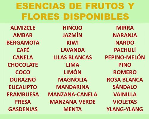 esencias  aromáticas perfumería y aromaterapia importadas