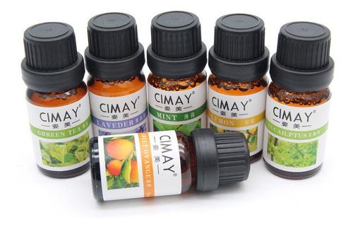 esencias para humidificadores cimay olores agradables 10ml