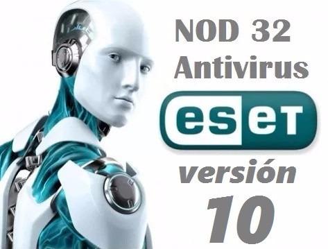 eset antivirus nod32 original 1 año mac win7,8,10 32/64 bits