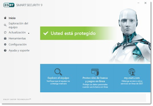 eset antivirus smart security - licencia para 3 pc, 1 año