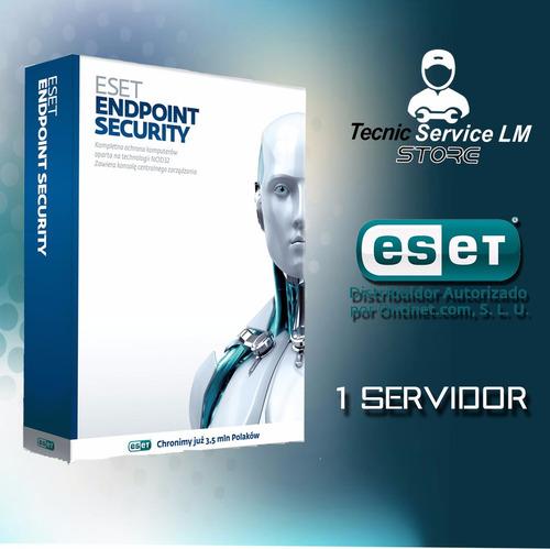 eset endpoint security antivirus 1 servidor, 1 año