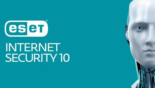 eset internet security v10 (smart security) 1 pc - 1 año