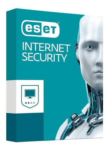 eset internet security v13 / licencia original 10 pc 1 año