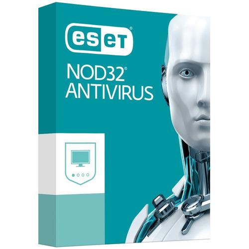eset nod32 antivirus 2018, 1 usuario, 1 año, windows