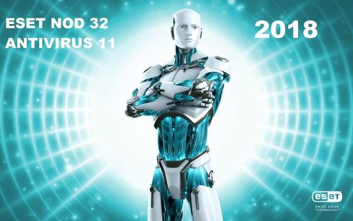 eset nod32 antivirus 2018 v10v11licencia original 1año x 1pc